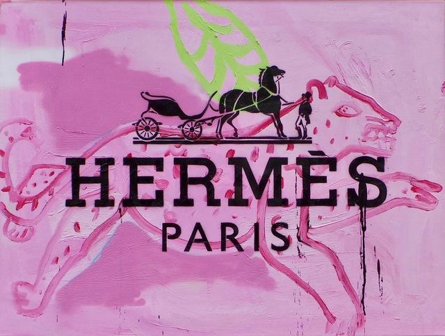 , 'Hermes Leopard,' 2016, Imitate Modern