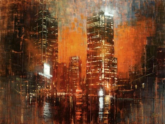 Christopher Clark, 'Denver - City Lights III', 2018, Abend Gallery