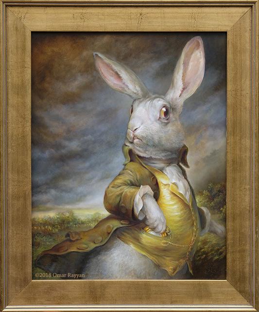 , 'White Rabbit,' 2018, Haven Gallery