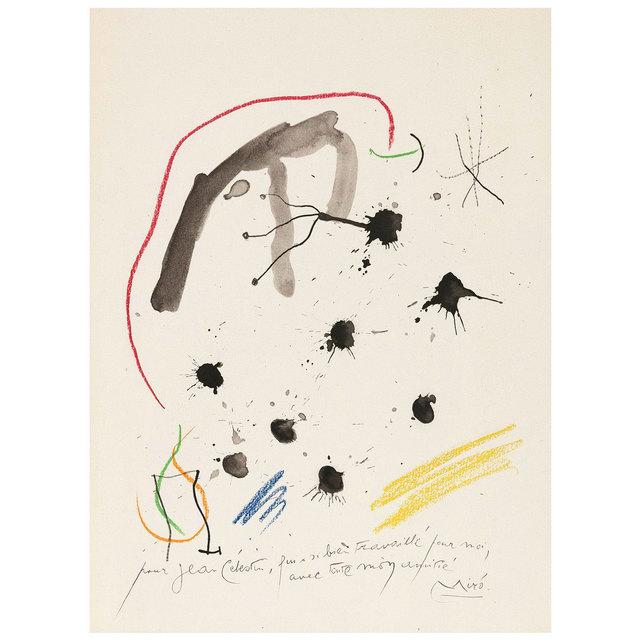 Joan Miró, 'Quelques Fleurs #6', 1964, Caviar20 Gallery Auction