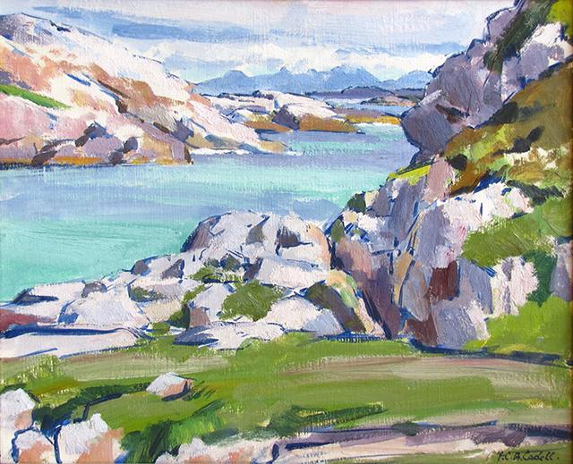 , 'Traigh Geal, Erraid, Argyll,' ca. 1925, The Scottish Gallery
