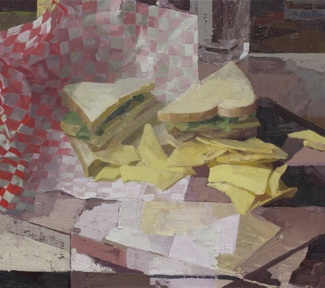 , 'Sandwich 7,' 2018, Alpha Gallery