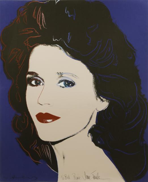Andy Warhol, 'Jane Fonda, F/S #II.268', 1982, Julien's Auctions