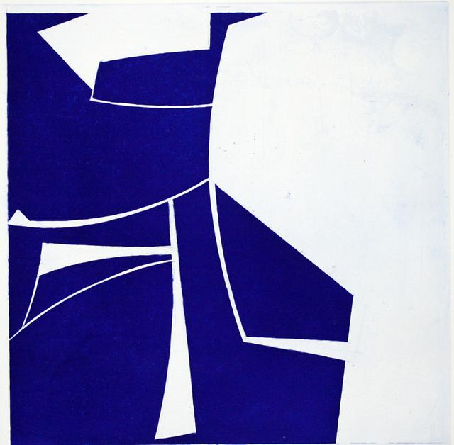 , 'Covers 2 Cobalt,' 2017, Kathryn Markel Fine Arts
