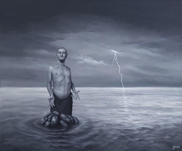 , 'El pescador,' ca. 2018, Nuun Espacio de Arte