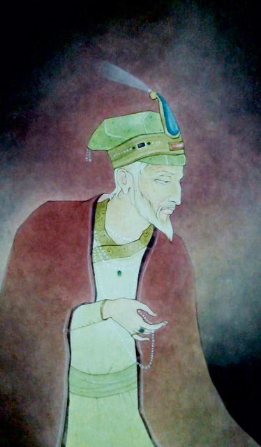"Mintu Naiya, 'King, Wash on Paper by Contemporary Artist ""In Stock""', 2010-2019, Gallery Kolkata"