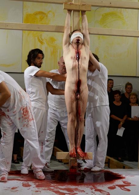 Hermann Nitsch, '155. Aktion, 1.9.2018, Nitsch Museum Mistelbach, Fotograf: Reinhard Ehn', 2018, Galerie Elisabeth & Klaus Thoman