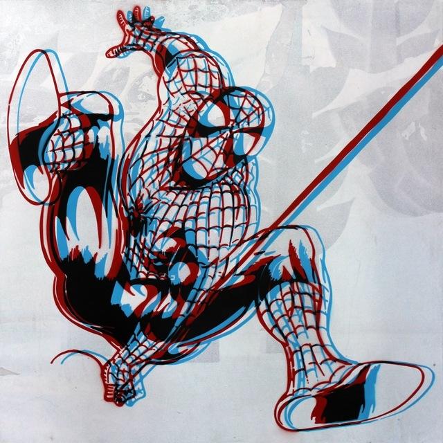 , 'The Amazing Spiderman (3D effect),' 2014, Imitate Modern