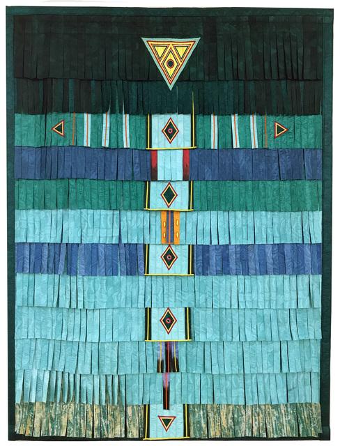 , 'Vert-clair-Touareg-5P,' 2017, Primo Marella Gallery