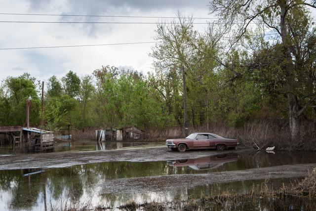 , 'Old Car in Flooded Yard, Braithwaite, Louisiana,' 2012, Susan Eley Fine Art