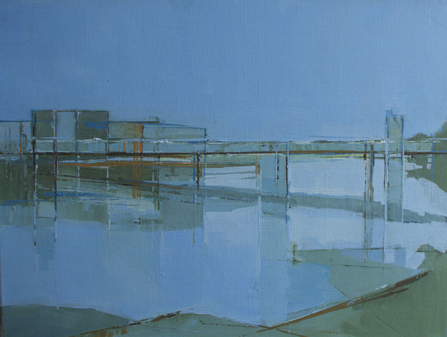 , 'From Putney Bridge ,' 2013, Albemarle Gallery | Pontone Gallery