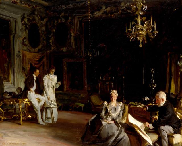 , 'An Interior in Venice,' 1899, Isabella Stewart Gardner Museum