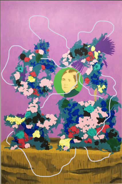 , 'Untitled (Flowers for Ida Kaiser Savade),' 2018, k contemporary
