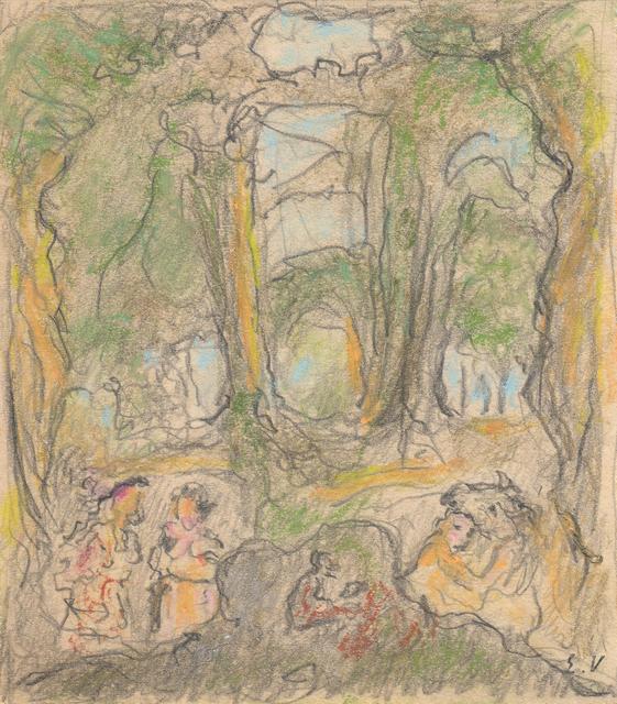 , 'Study for La Comédie du Palais de Chaillot,' 1937, Jill Newhouse Gallery