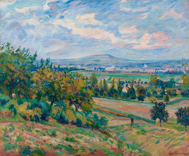 , 'Vue de L'Haÿ-les-roses, Île-de-France,' ca. 1873, Stoppenbach & Delestre