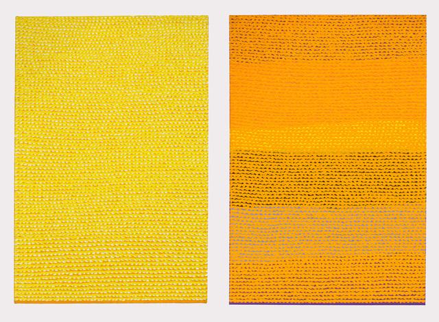 , 'Untitled (Yellow and Orange),' 2010, Goya Contemporary/Goya-Girl Press