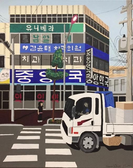 , 'Cargo Truck, South Korea,' 2017, Clyde Hogan Fine Art