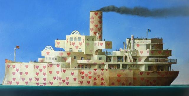 , 'The Love Boat ,' 2017, Rebecca Hossack Art Gallery