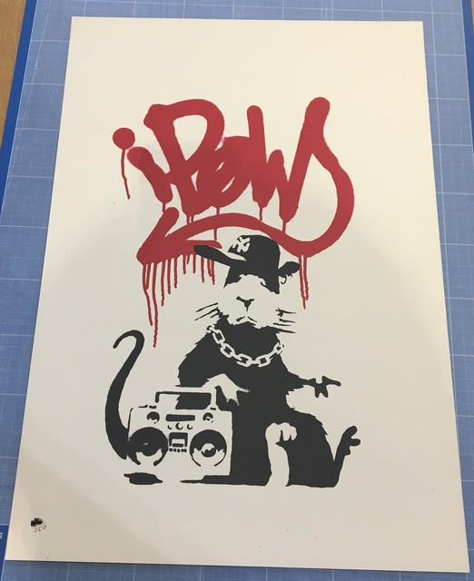 Banksy, 'Gangsta Rat', 2004, Prescription Art