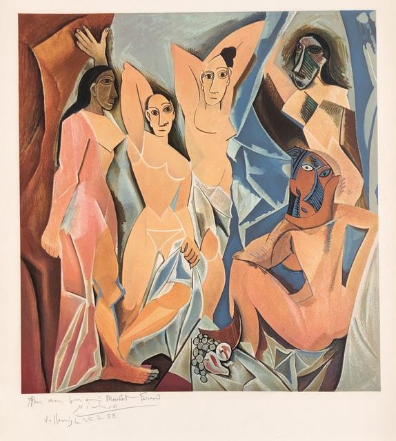 Pablo Picasso, 'Les Demoiselles d'Avignon', 1953, Denis Bloch Fine Art