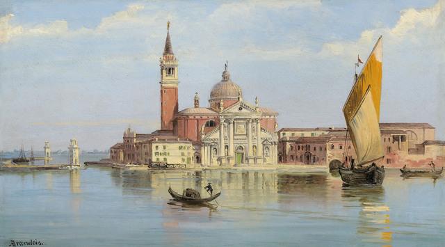 , 'San Giorgio Maggiore, Venice,' ca. 1890, Galerie Kovacek