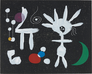 After Joan Miró, 'Rose Matinale au Clair de la lune (Morning Rose in the Light of the Moon),' 1958, Phillips: Evening and Day Editions