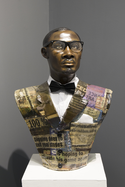 Nicola Holgate, 'Two Rises and Falls (Lumumba)', 2019, Zeitz MOCAA