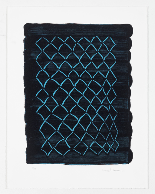 Mona Hatoum, 'Untitled (fence, blue)', 2018, White Cube