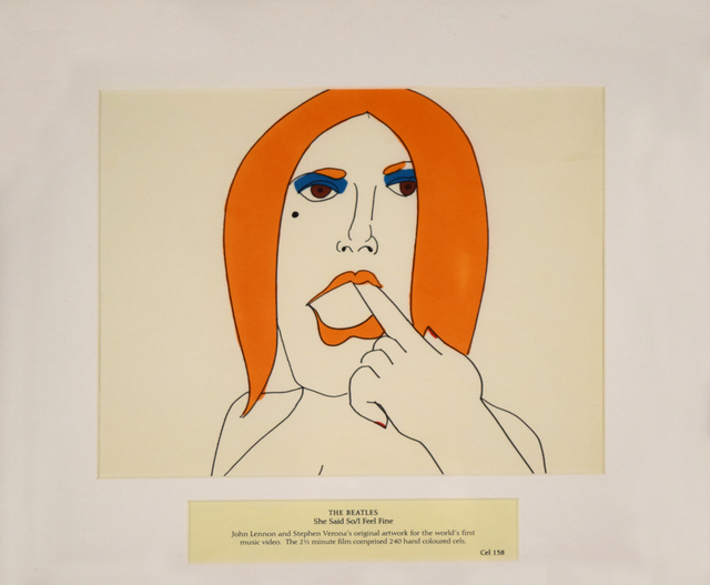 , 'The Beatles, She Said So/I Feel Fine, Cel 138,' 1966, HG Contemporary