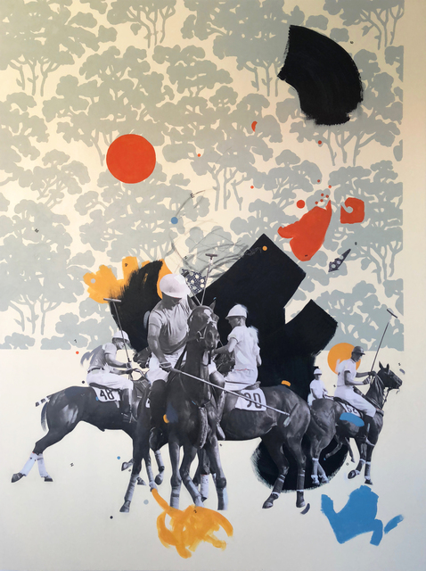 , 'Likes Polo,' 2018, Roman Fine Art