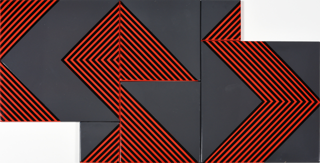 , 'Untitled (Grey-Red),' 1970, The Mayor Gallery