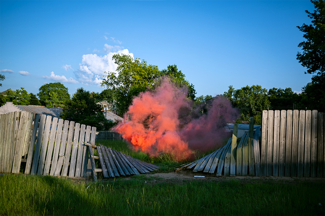 Irby Pace, 'Fence Smoke', 2018, Galleri Urbane