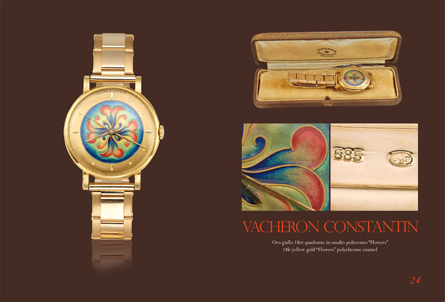 "Vacheron & Constantin, 'Yellow gold ""Flowers"" polychrome enamel', Davide Parmegiani Fine Watches"