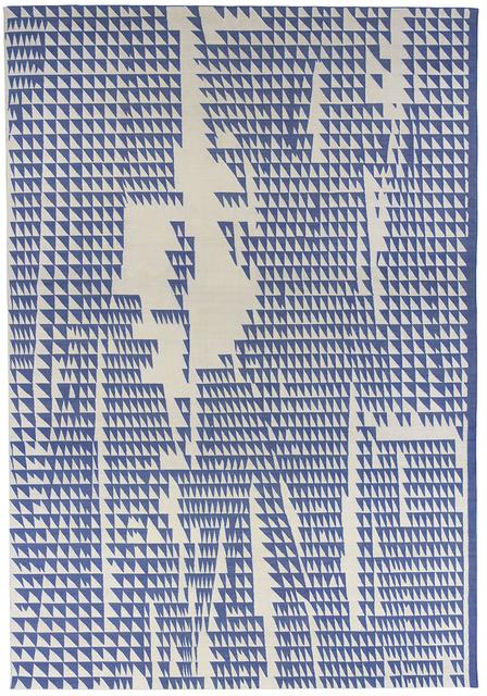 , 'Composition in Blue Cream,' 2015, Maddox Arts