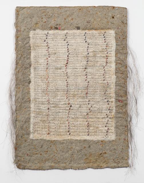 Greta Schödl, 'Untitled (Faeden unter Papier - Wires under the Paper)', ca. 1980, Richard Saltoun