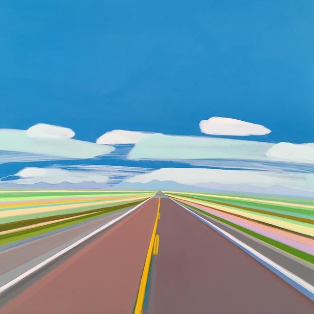 , 'Route 52, New Mexico,' 2019, Tambaran