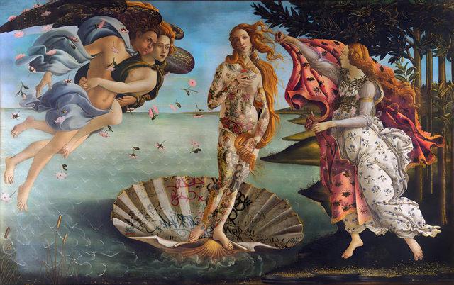 , 'La Nascita Di Venere,' 2018, Klein Gallery