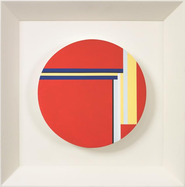 , 'Red Tondo,' 1977, Vallarino Fine Art