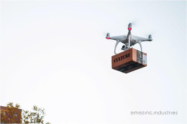 , 'AMAZING INDUSTRIES- Drone Delivery,' 2018, SILAS VON MORISSE gallery