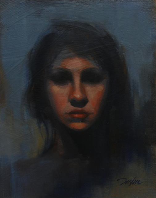 , 'Female Portrait 3,' 2015, Bowersock Gallery