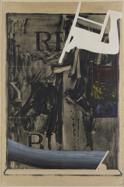 Jasper Johns, 'Watchman', 1967, Print, Lithograph, F.L. Braswell Fine Art