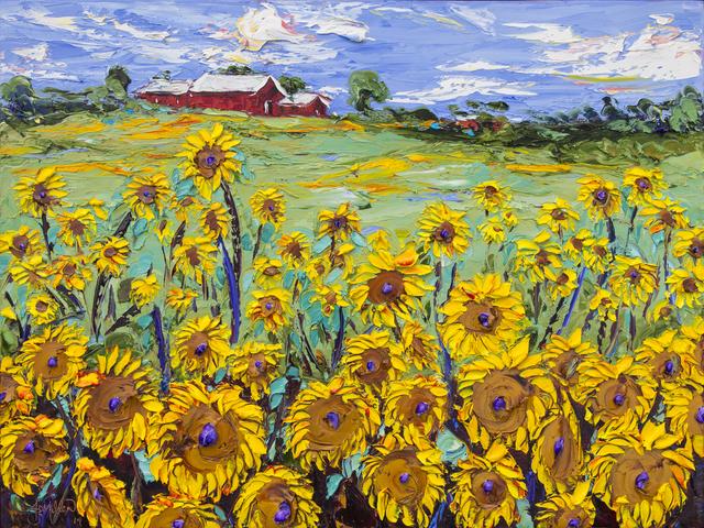 , 'Sunflower Ranch,' 2014, Samuel Lynne Galleries