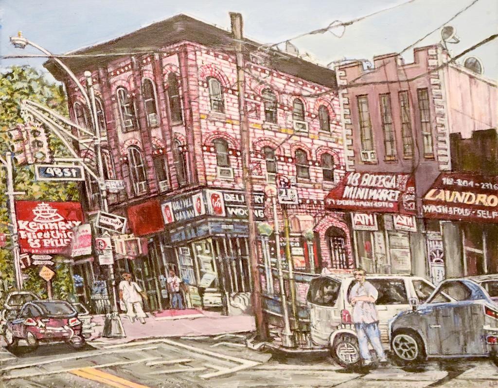 Queens-Woodside Street Scene