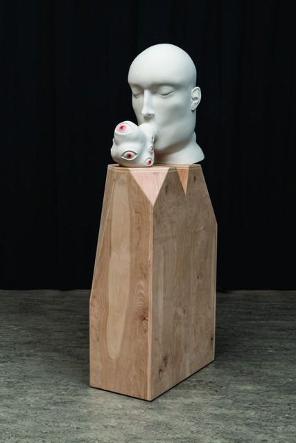 , 'Untitled (head blob),' 2014, bardoLA