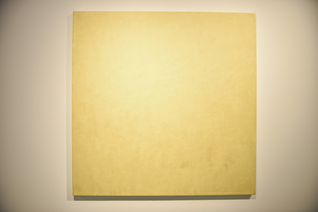 , 'Stronium Yellow Chromate,' 1974, Jean-Paul Najar Foundation