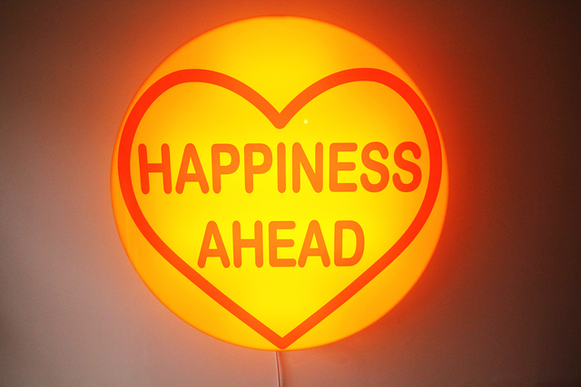 , 'Happiness Ahead,' 2017, Lawrence Alkin Gallery