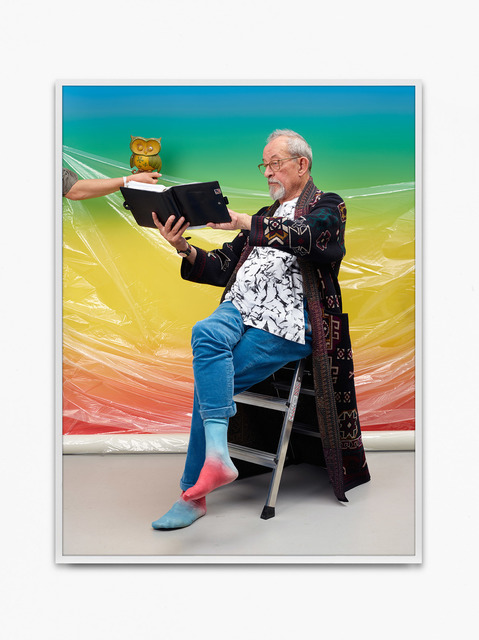 Annette Kelm, 'Kasper Facebook', 2018, Photography, Archival pigment print, KÖNIG GALERIE