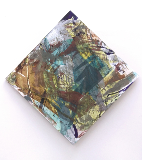 ", '""[22.35]Copper - [14.97]Aluminum - [3.71]Tin - [0.34]Zinc - [1.49]Methyl Violet - [22.92]Copper[II]Chloride - [3.45]Cobalt - [0.37]Iron[II]Sulphate - [22.92]Cobalt[II]Chloride - [5.56]Tannin - (98.08ml)"",' 2017, Galleria Raucci / Santamaria"