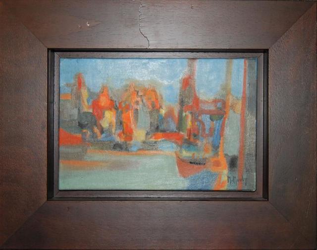 , 'Amsterdam, Vielles Maisons,' 1971, Baterbys Art Gallery