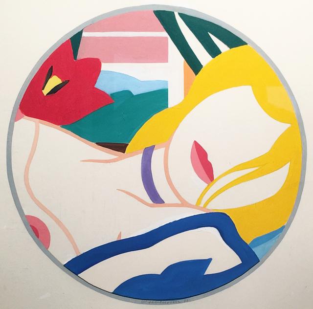 , 'Study for Blonde Vivienne,' 1988, Waterhouse & Dodd